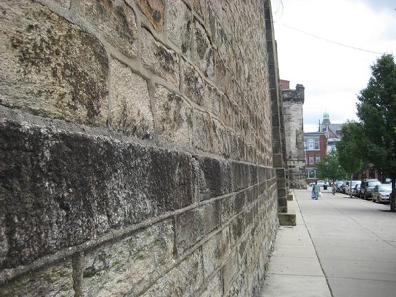 Side Wall of Eastern State Penitentiary