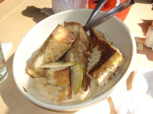 Chai French Toast at Orange