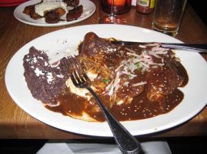 Chicken Enchilada's at Frontera Grill