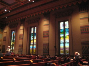 Interior of the Downtown Pres. Church