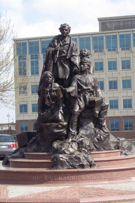 The Corps of Discovery in Kansas City, MO, which features Sacagawea