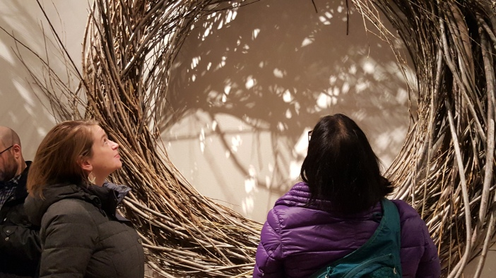 SF and I experiencing Wonder at the Renwick Gallery in Washington, DC. | Credit: Priya Chhaya