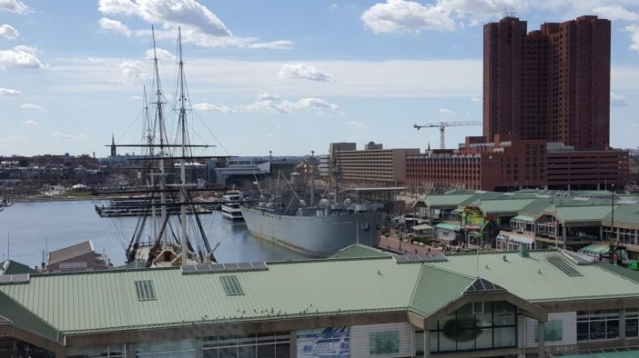 Baltimore Inner Harbor. Photo credit: Priya Chhaya