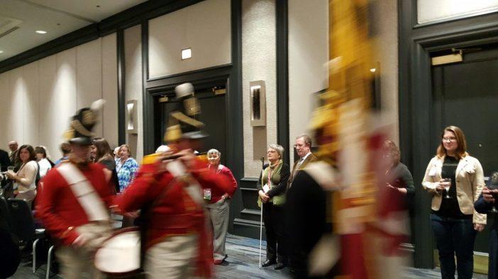 Musicians at opening reception of NCPH annual meeting in Baltimore. Photo credit: Priya Chhaya